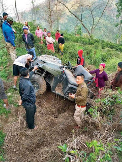 Bimal Gurung An All-Terrain Vehicle (ATV)
