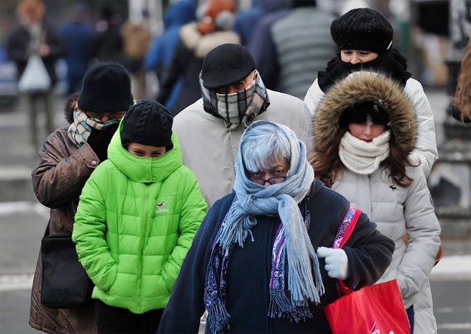 Vórtice polar con vientos de 45mph convierte en desértico el Alto Manhattan afectando actividades