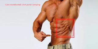 Cara latihan membentuk otot perut bagian samping dengan 6 gerakan di tempat fintes.