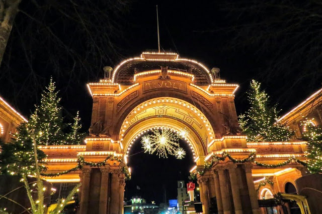 Copenhagen in Winter: Tivoli Gardens Christmas Market
