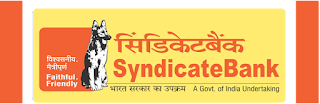 SYNDICATE BANK | SPECIALIST OFFICERS | RECRUITMENT | 2016-2017