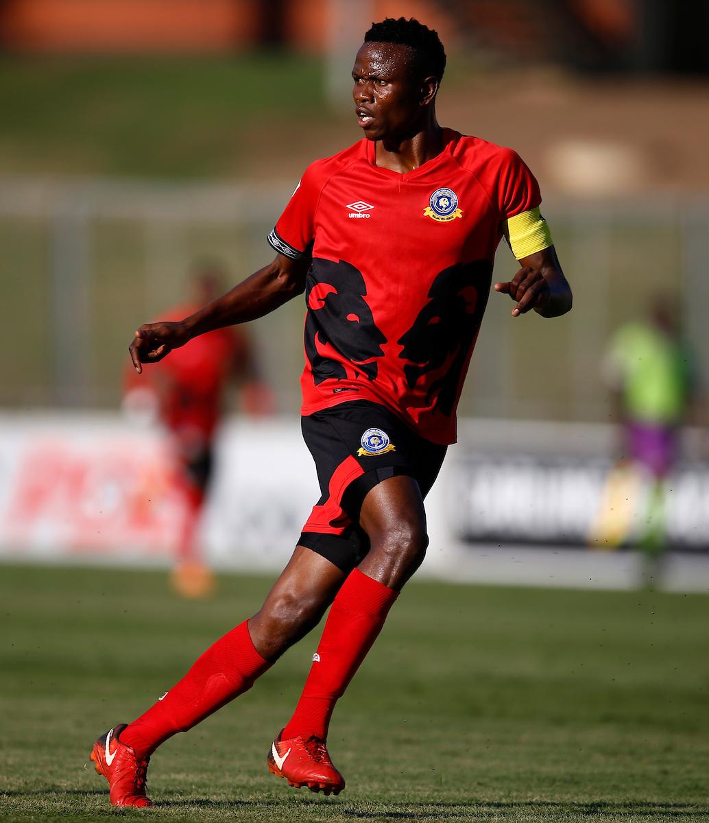 Tshakhuma Tsha Madzivhandila defender Tsepho Makgoga