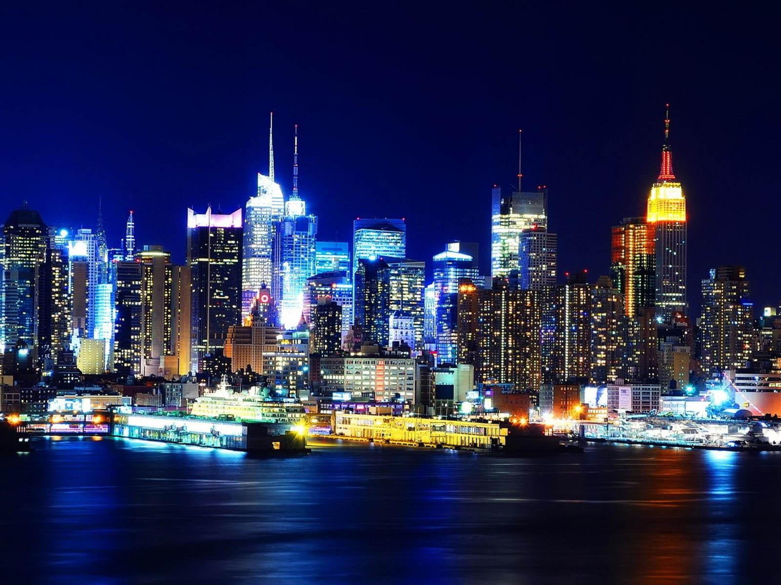 wallpaper: Night City Glow