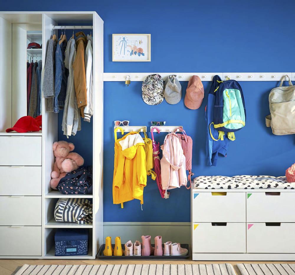 catálogo ikea 2020 recibidor mueble blanco para niños novedad