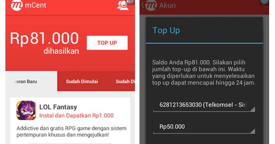 Cara Mudah Mendapatkan Pulsa Gratis Dari Hp Android