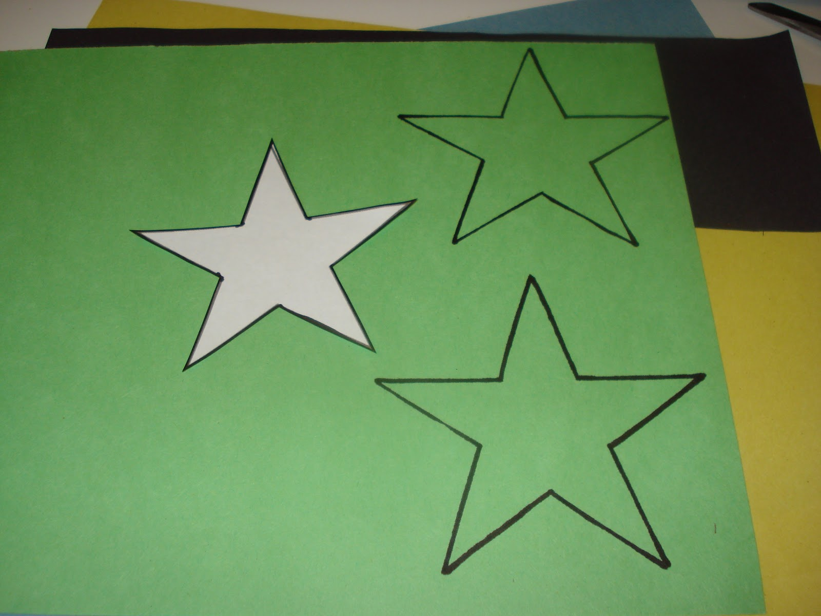 Z Is For Zel Twinkle Little Star Color Matching