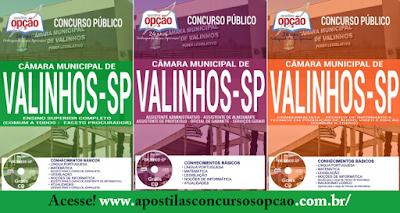 Apostila concurso Câmara de Valinhos 2017 - CARGOS DE ENSINO SUPERIOR COMPLETO (PROCURADOR)