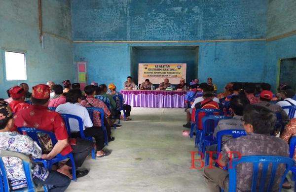 Kasat Binmas Gelar Silaturahmi Kamtibmas