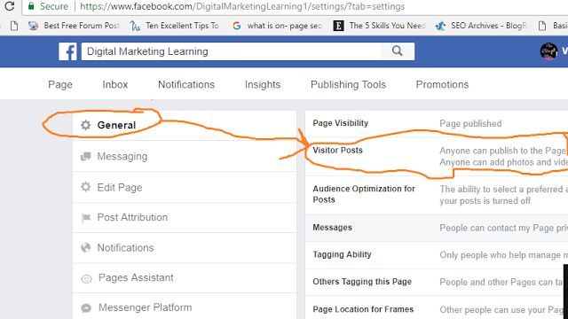Step3 - Secret Guide: How to Stop Visitor Posts on Facebook Business Page