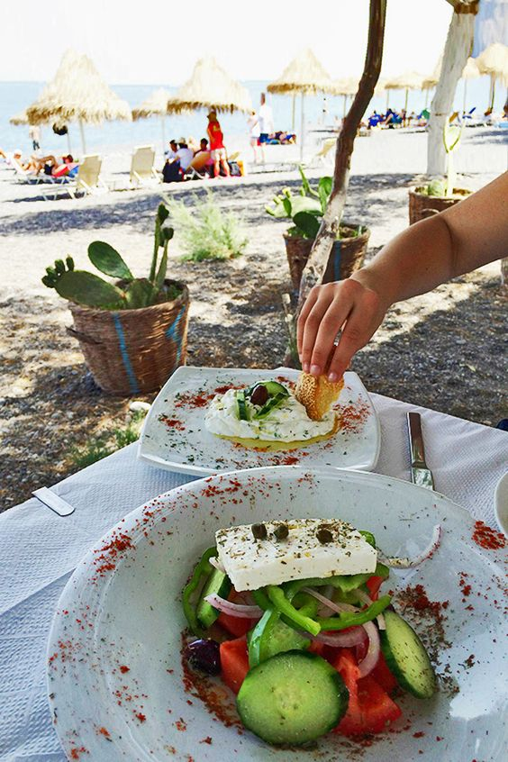 Where to eat in Santorini - Ioanna's Notebook