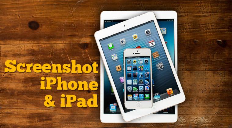 Cara Screenshot hp iPhone dan iPad Semua Tipe