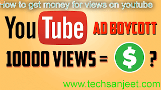 How to get money for views on youtube