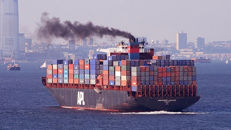 One ship pollutes the equivalent of 50 million cars