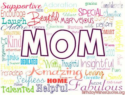 Happy Birthday Mom Wishes