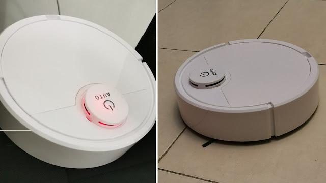 ES300 Smart Robot Vacuum Cleaner