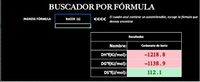 calculadora de entalpía online