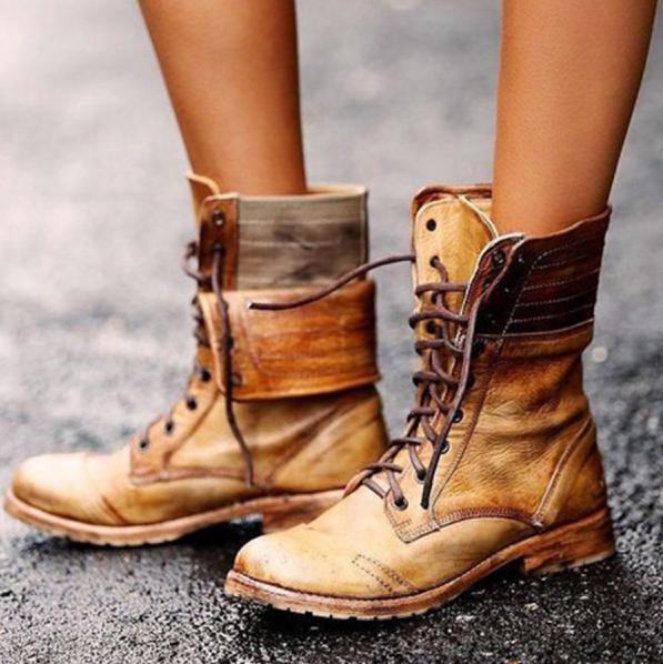 tendências de calçados para  inverno
