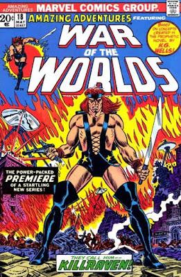 Amazing Adventures #18, War of the Worlds, Killraven