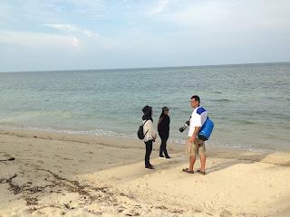 Pantai di Pulau Benan