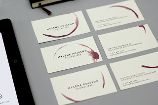 Wine namecard
