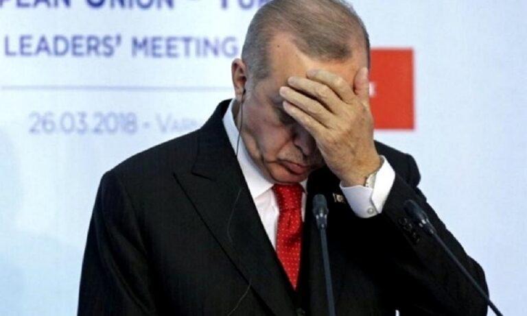 Μήπως άρχισε να ισχύει ο νόμος του Μέρφι για τον Ερντογάν;