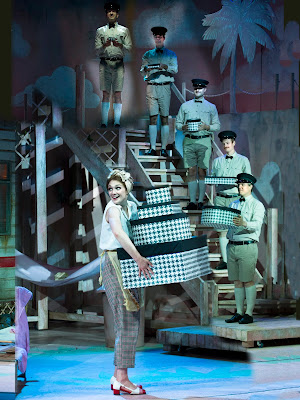 Rossini: La Cenerentola - Heather Lowe & chorus - The Grange Festival (Photo Simon Anand)