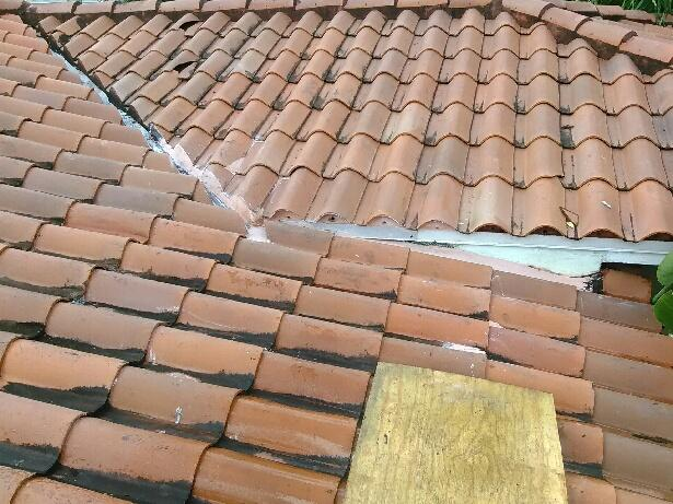 Then The Valley Metal Is Set In Roof Cement At The Nail Lines And Nailed  Down. The Underlayment Installation Can Now Be Finished, The Patch  Perimeter ...
