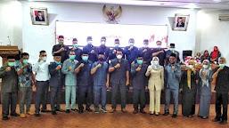 Rapat Puripurna DPRD Kabupaten Batanghari, Usulan Pengangkatan Bupati Terpilih Berjalan Sukses