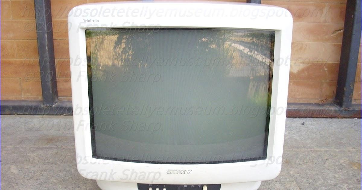 obsolete technology tellye sony kv m1400u kv m1400a year 1995 - Wie Man Ein Kingsizekopfteil Aus Einer Alten Tr Macht