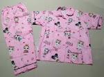 Jual Baju Tidur Anak Zaman Sekarang L 8-9 Tahun Lol Pink