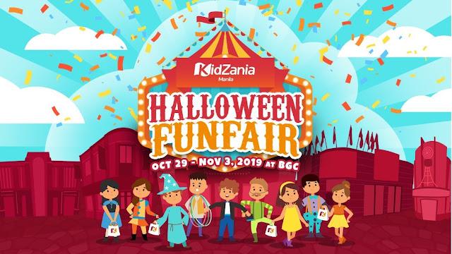 "Kidzania Manila's ""Halloween Funfair"""