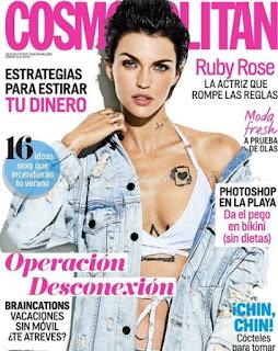 Regalos revistas Junio 2017 cosmo wonder woman