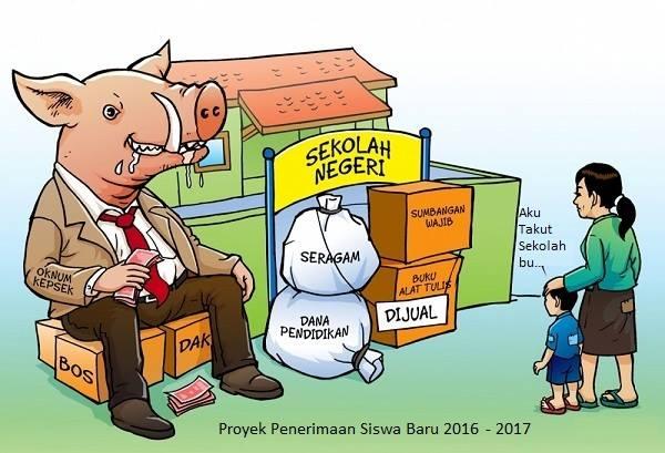 Masuk Sekolah Harus Bayar Mahal, Setelah Sekolah Harus Beli LKS