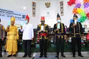 Agus Fatoni Launching Gerakan Sulut Bermasker di HUT Kota Cakalang