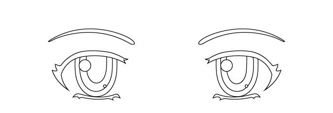 menggambar pupil