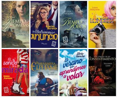 catálogo Phoebe 2018_sellos editoriales de novela romántica