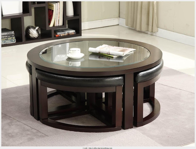 Incredible Coffee Table With Stools 2017