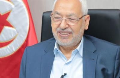 الإعلامي : طة خليفة راشد الغنوشي يقول انة لم يصل إلى رئاسة البرلمان التونسي بالدبابة ولكن عبر انتخابات