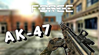 Bullet Force AK-47 weapons