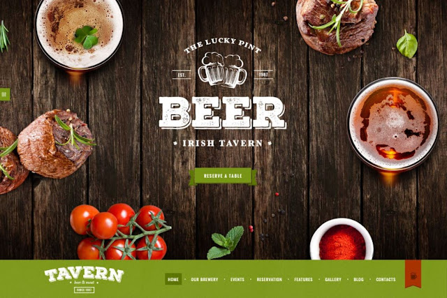 Tavern | Pub & Brewery WordPress Theme
