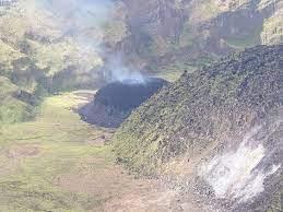 La Soufriere volcano