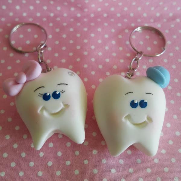 Dentinhos no Chaveirinhos