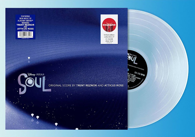 Pixar Soul Soundtrack Clear Vinyl from Target