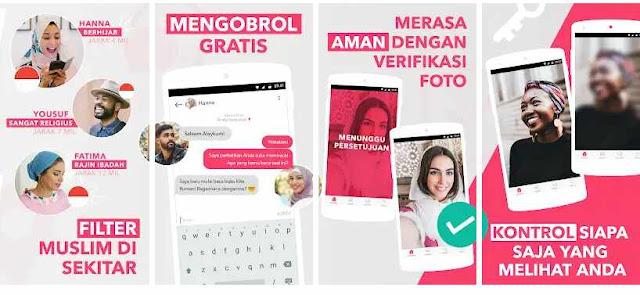 Aplikasi Muzmatch: Temukan Indonesia Jodoh Muslim
