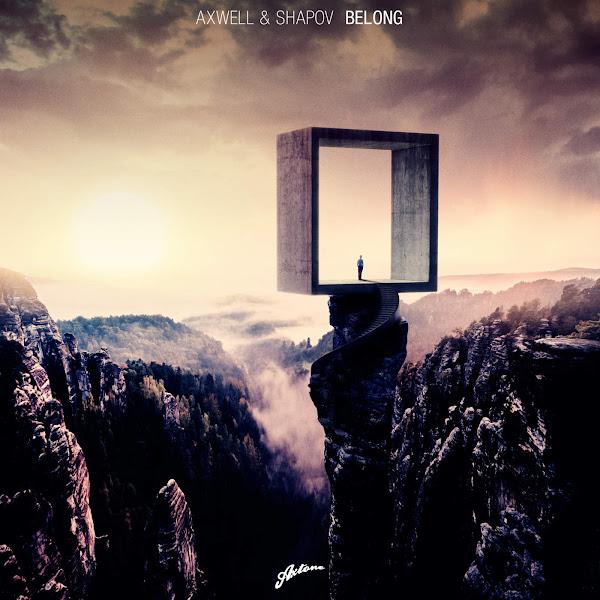 Axwell & Shapov - Belong - Single Cover
