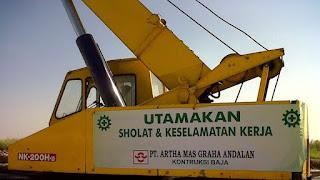slogan utamakan sholat dan keselamatan kerja