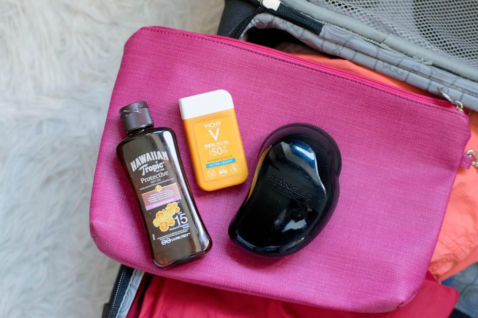 como arrumar a mala de férias