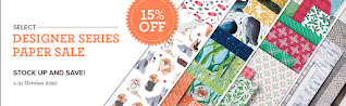 Stampin' Up! Designer Paper Sale 15% Off