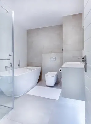 modern and minimal bathroom design