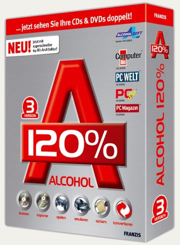 How to use alcohol 120 virtual drive